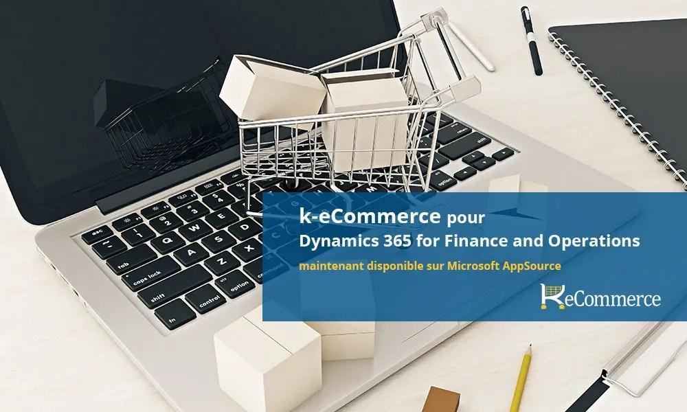 k-ecommerce dyanmics 365 finance and operations