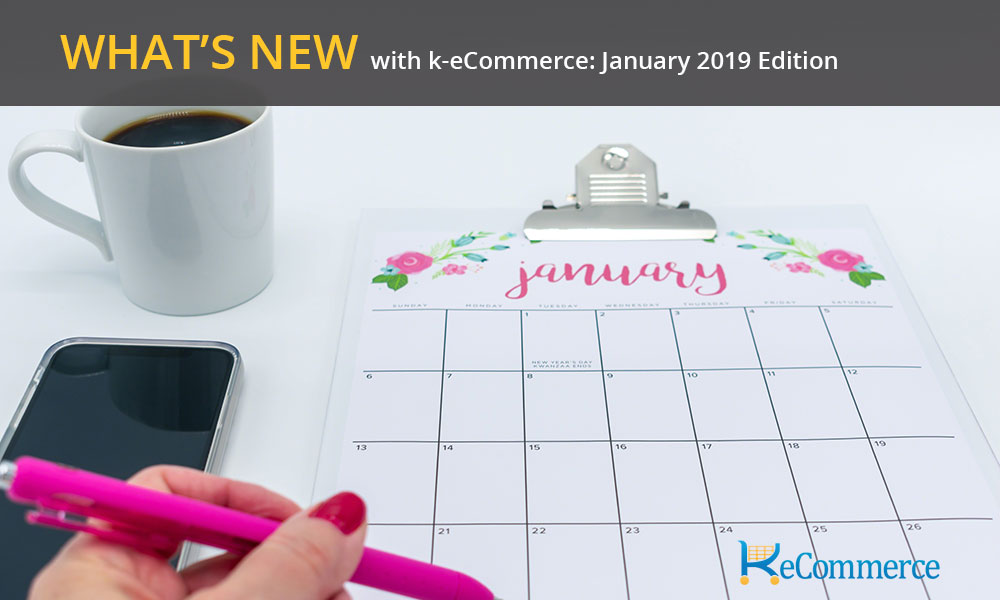 what's new k-ecommerce january