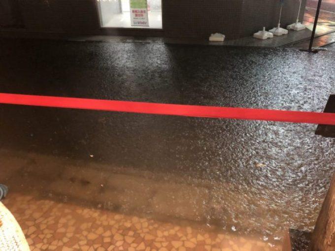 下諏訪町洪水