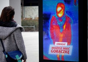 Interactive Outdoor Ad to Detect Flu in Poland for GSK