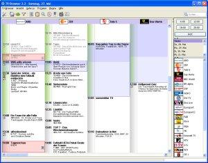 TV-Browser Hauptansicht
