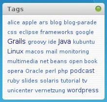 Simple Tags - Tag Cloud