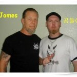 Jame and I in South Korea 2006