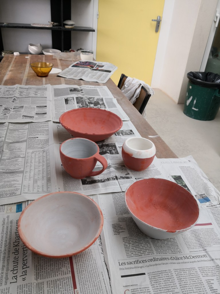 Poterie - Emaillage