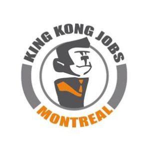 Logo King Kong Job Montréal