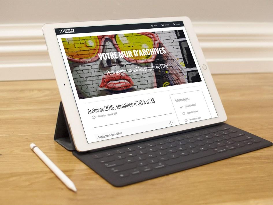 K-ROBAZ Services en ligne : espace client