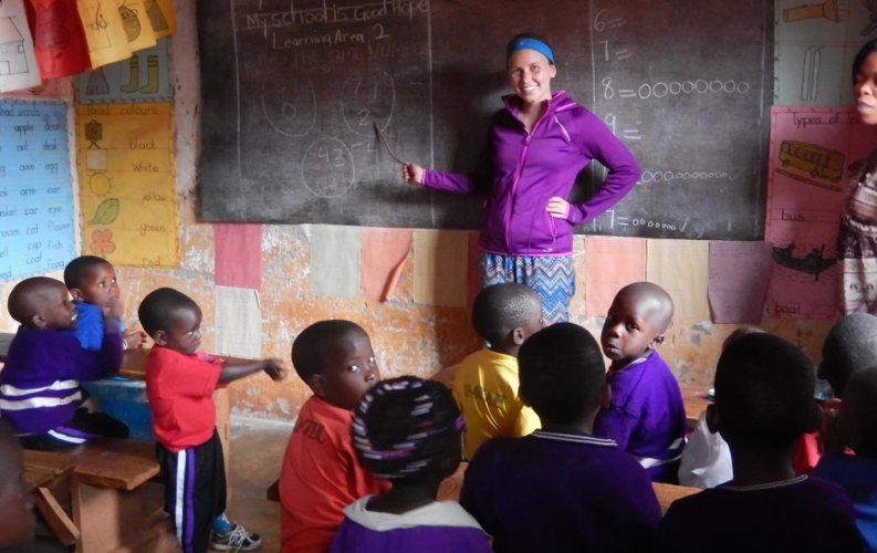 giving back to community in Uganda