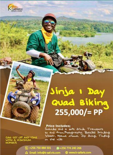 Fun adventure tours in Jinja