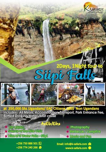 Sipi falls adventure fun tours in Uganda