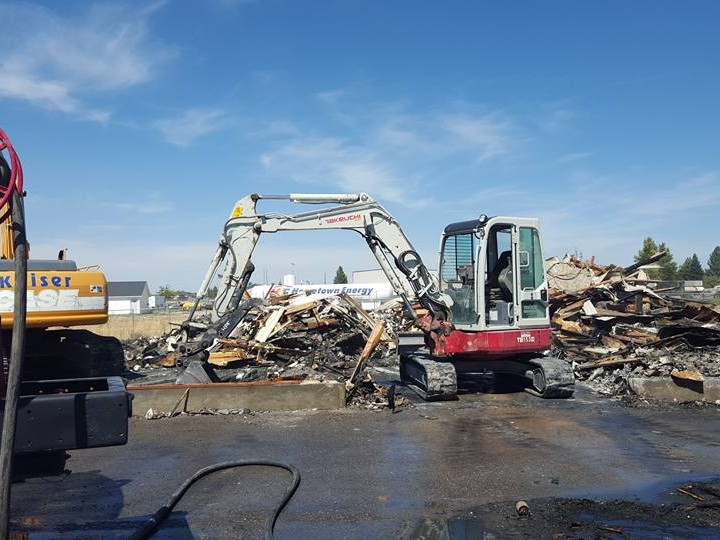 We are a demolition company in Idaho Falls that also provides excavation and precision grading services