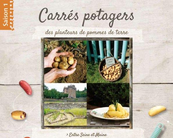 livre carrés potagers pomme de terre