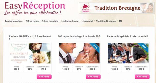 site web easy réception en Finistère