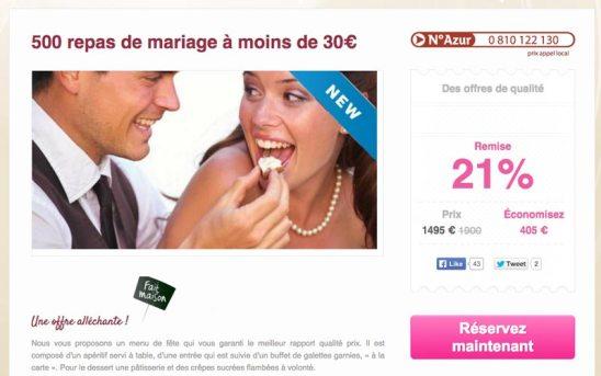 site web easy réception à Brest