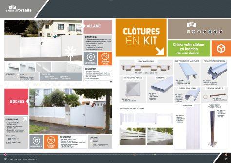Catalogue de clotures Cadiou industrie