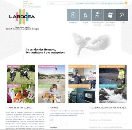 Site internet Labocea