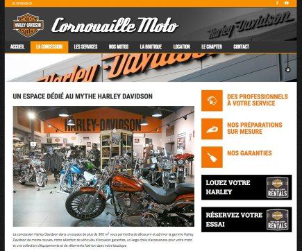 site Cornouaille moto