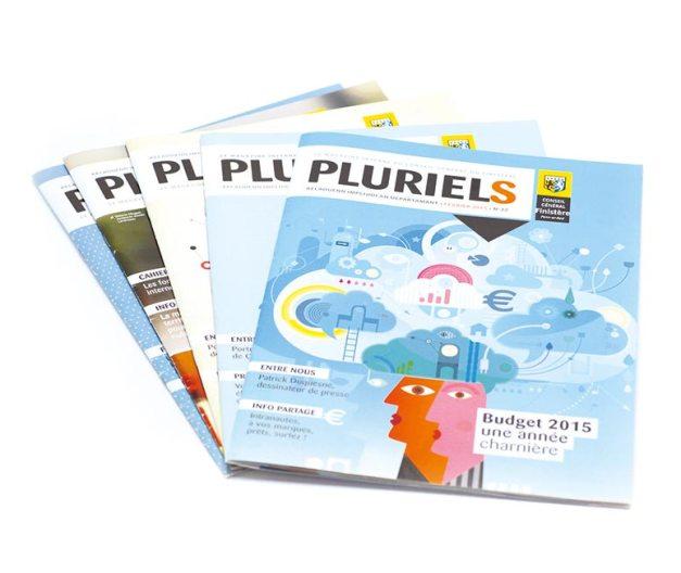 magazine interne pluriels