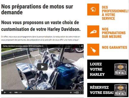 site Harley Davidson Quimper