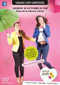 séance photo coeur de Jaurès déguisement Les parapluies de Brest