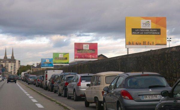 Avenue de la gare à Quimper