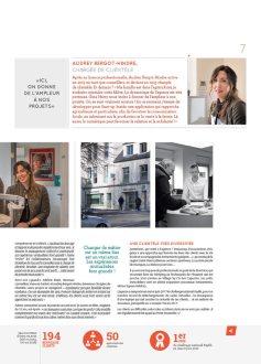 Magazine interne du crédit agricole du Finistère