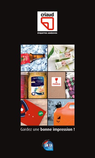 couverture de la plaquette d'entreprise criaud