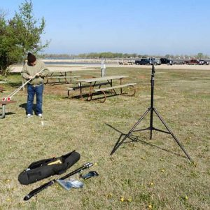 BuddyPole for parks on the air antenna