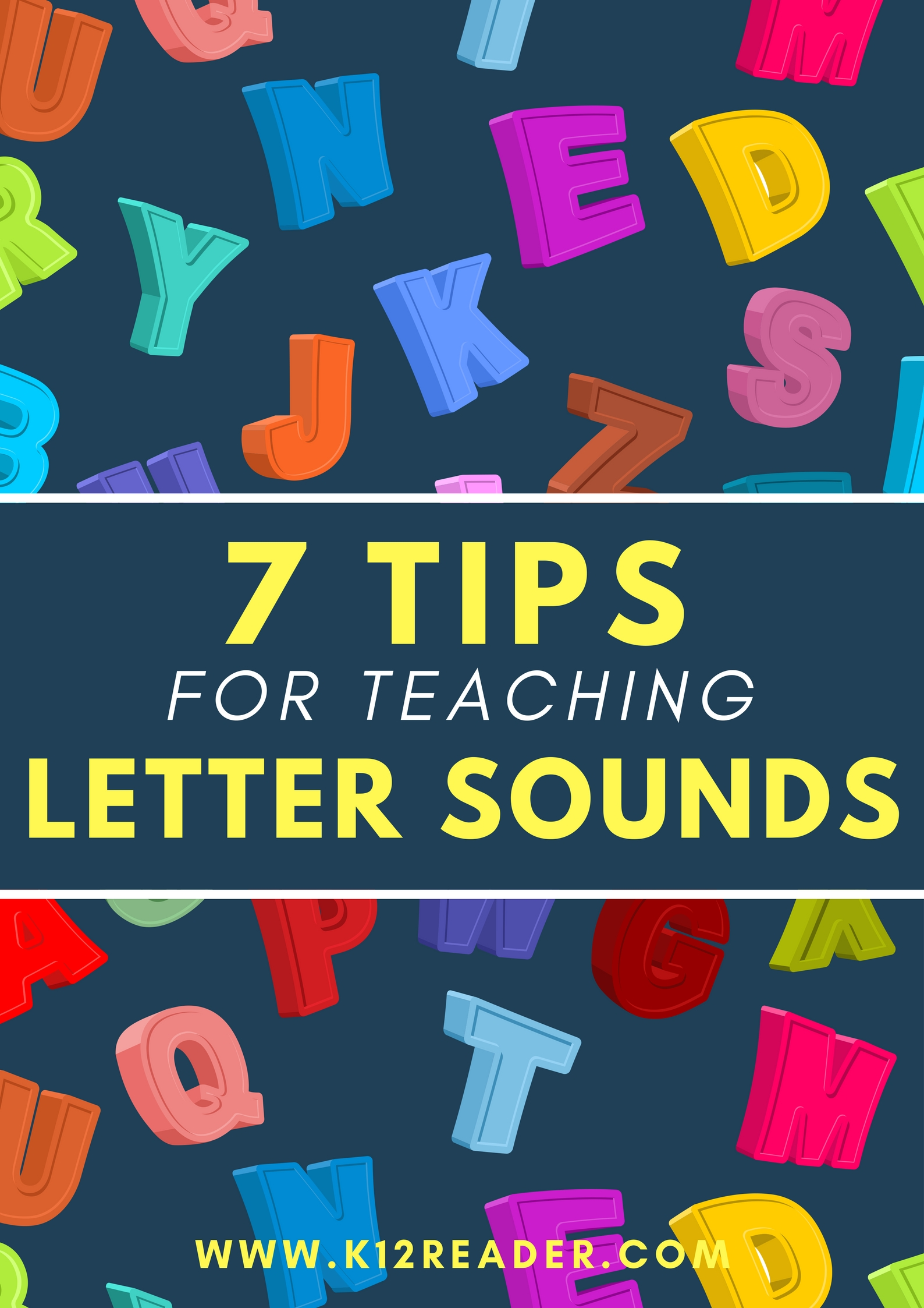 7 Tips For Teaching Letter Sounds