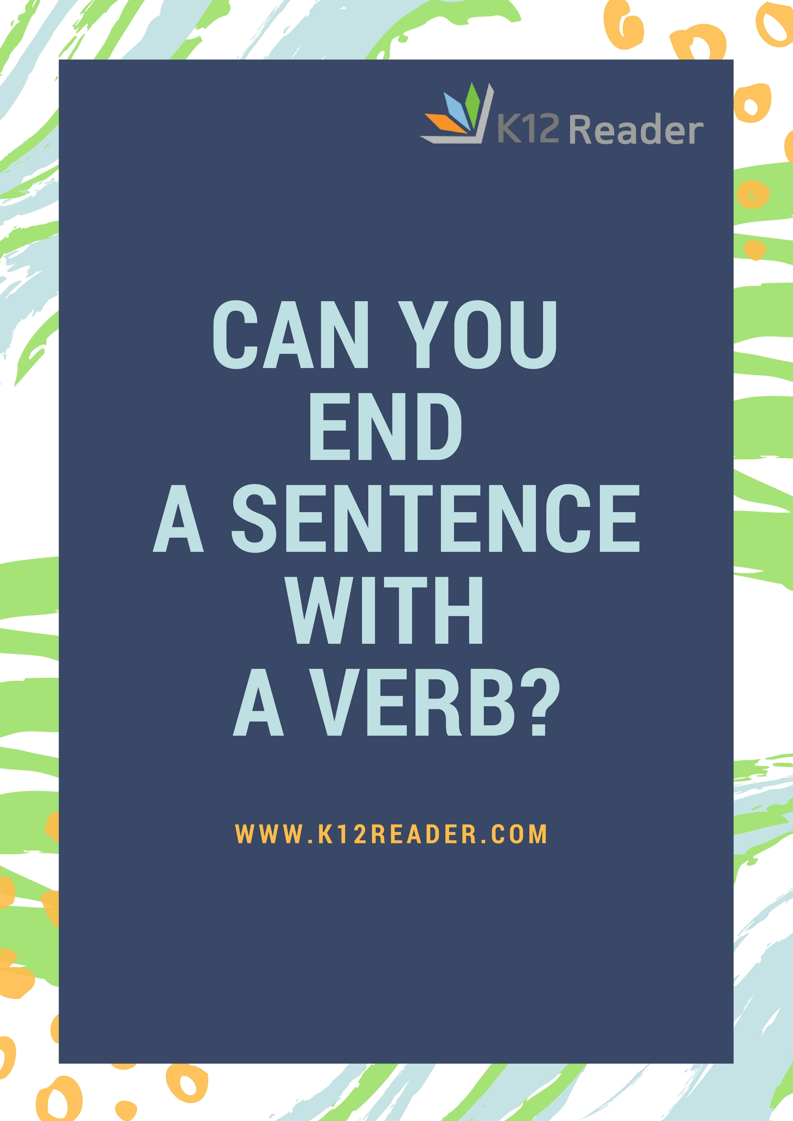 Can You End A Sentence With A Verb