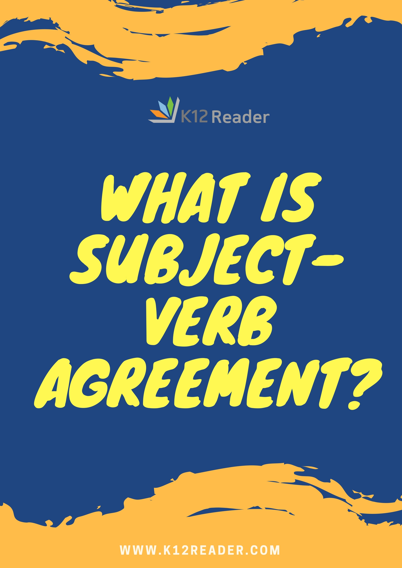 What Is Subject Verb Agreement