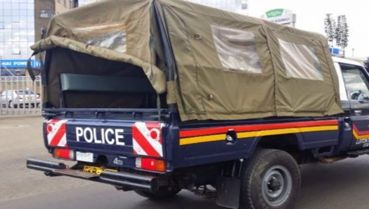 The four suspects were en route to Murang'a Prison, where they were to be detained as their cases pended in court. [PHOTO | FILE]