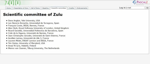 Zulu: an interactive learning competition