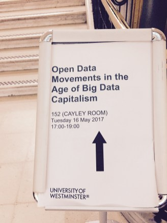 Open Data Movements in the Age of Big Data Capitalism