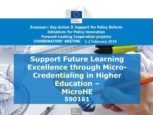 Support Future Learning Excellence through Micro-Credentialing in Higher Education – MicroHE