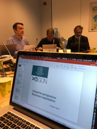 X5GON project review in Brussels, 2018