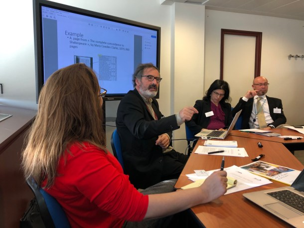 Workshop on Teaching and Learning Competencies for AI from an Information Access Perspective, Paris 2019