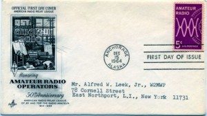 Amateur Radio First Day Cover --- QST Magazine