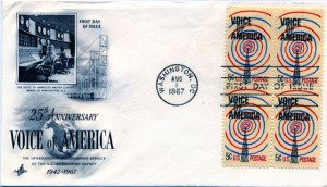VOA First Day Cover