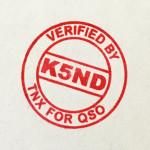 K5ND Stamp