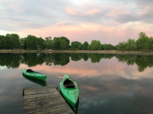 Kayak in Michigan