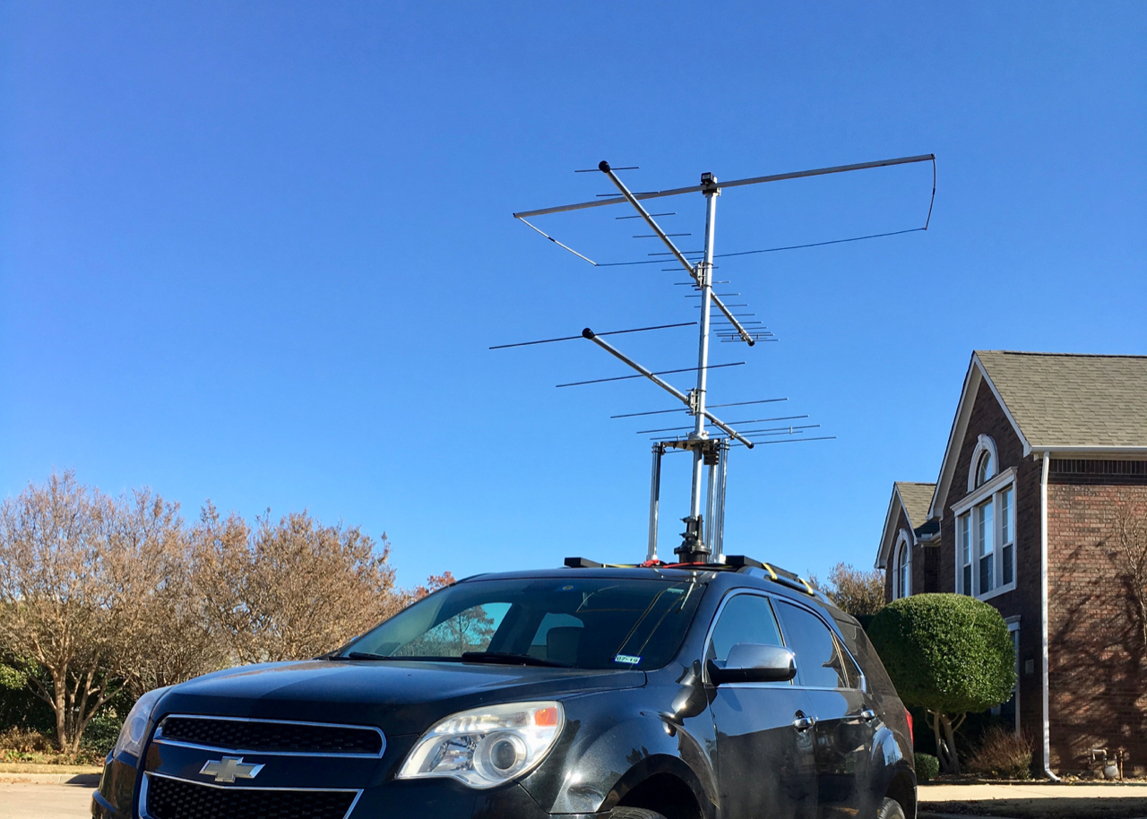 VHF Contest Rover — New Antenna Setup | K5ND