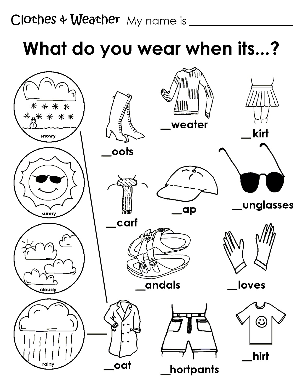 Kids Activity Worksheets