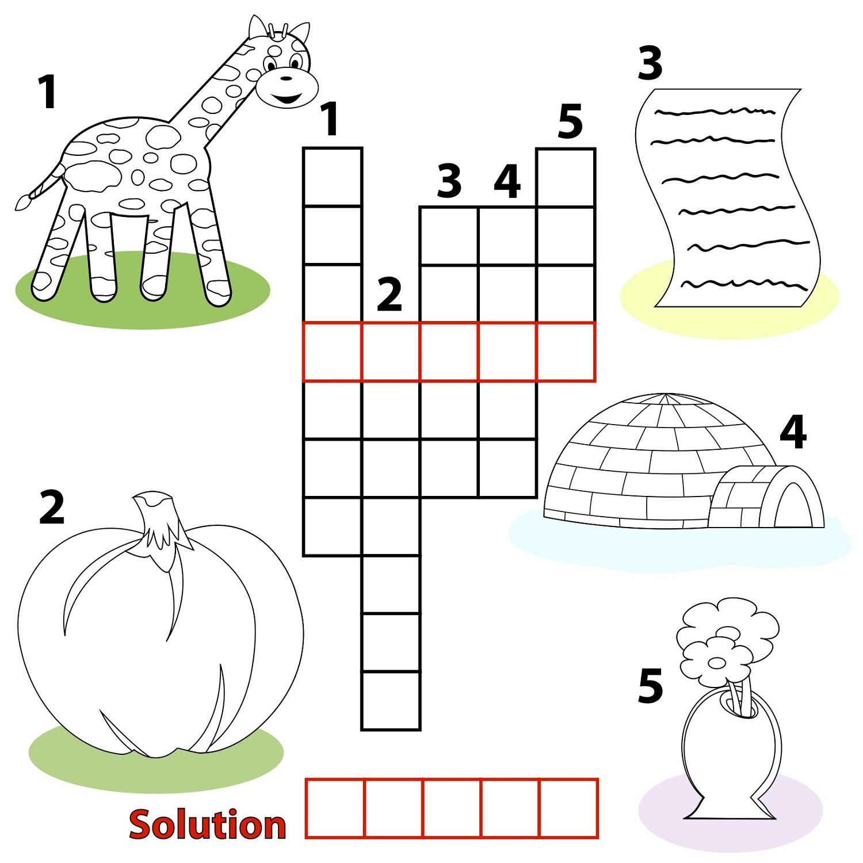 Very Easy Crossword Puzzles