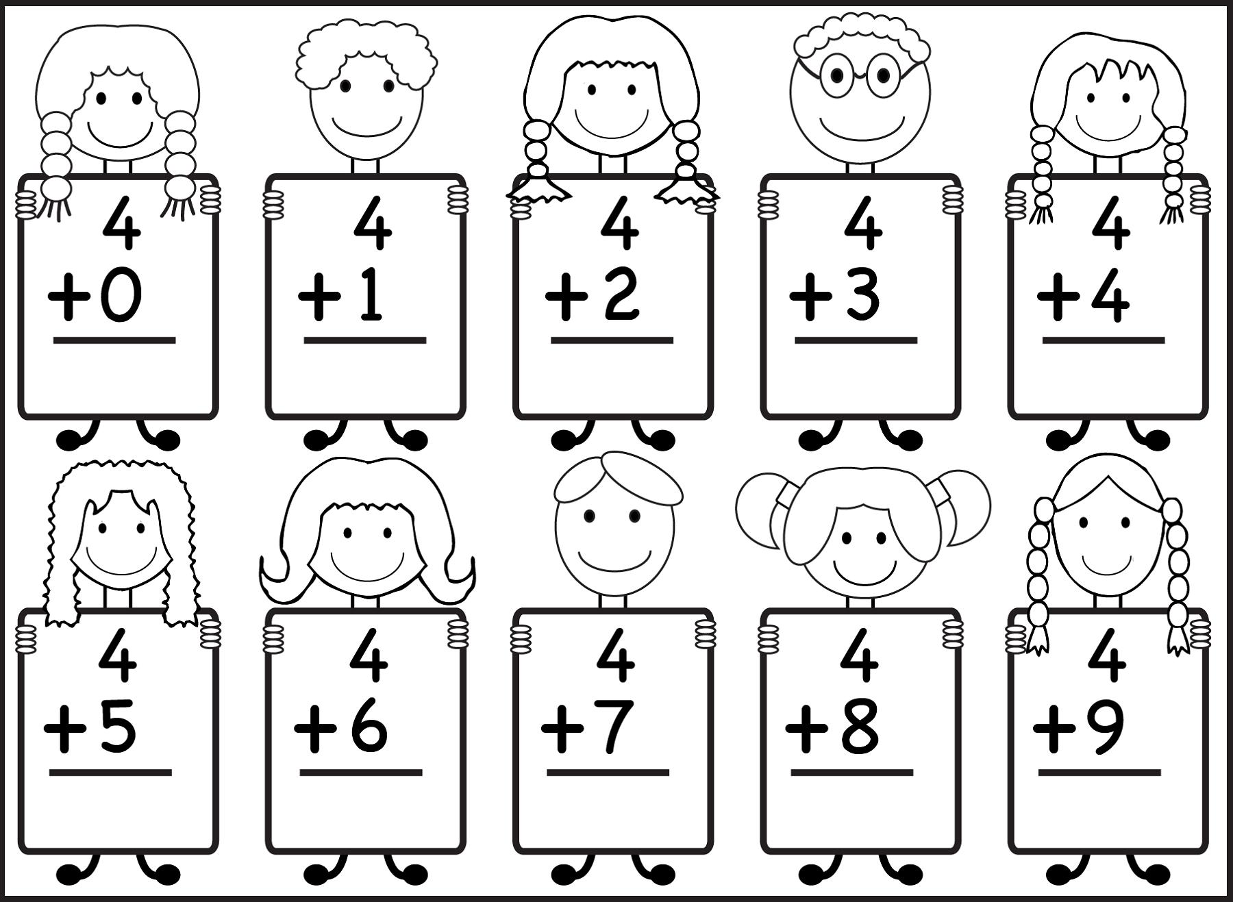 Printable Addition Worksheets