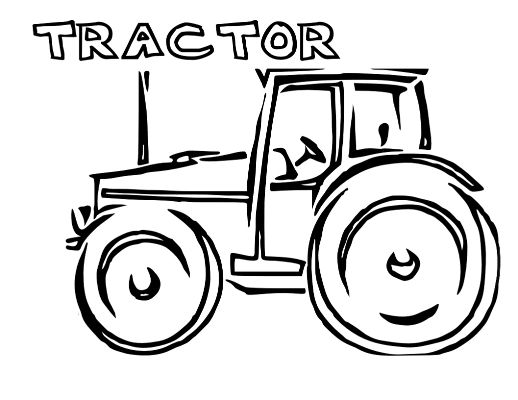 Tractor Worksheets For Kids