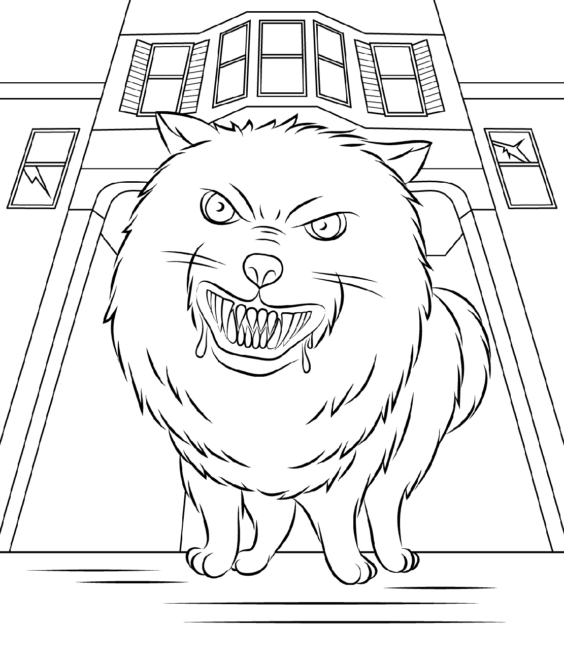 Goosebumps Coloring Pages