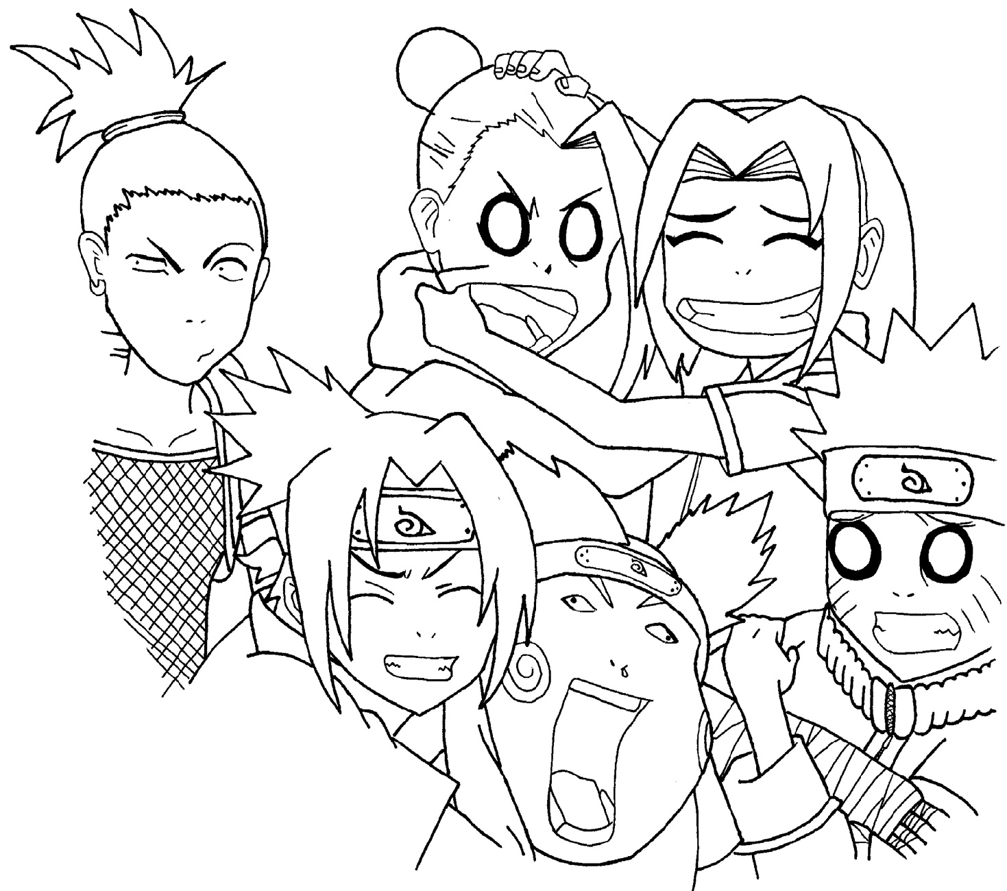Naruto Worksheet