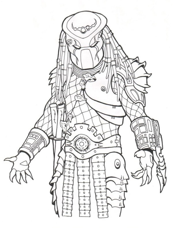 predator coloring pages # 75