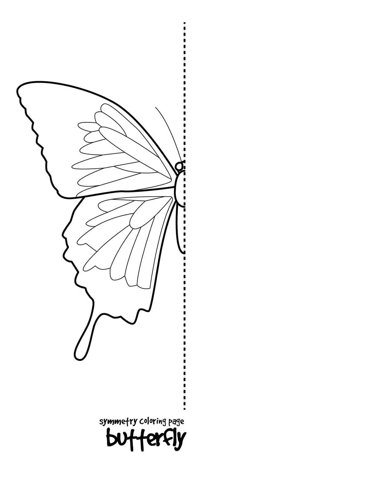 Drawing Sheets For Kids Butterfly K5 Worksheets