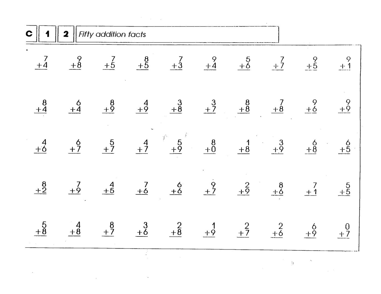 Free Printable Math Workbooks